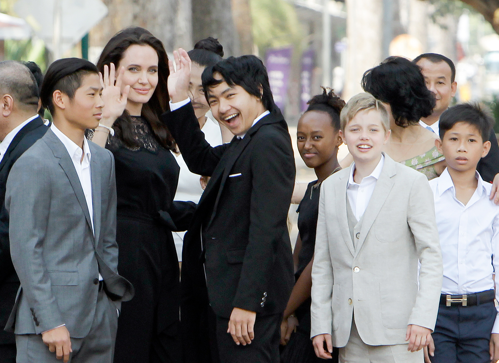 Angelina Jolie Brad Pitt Children