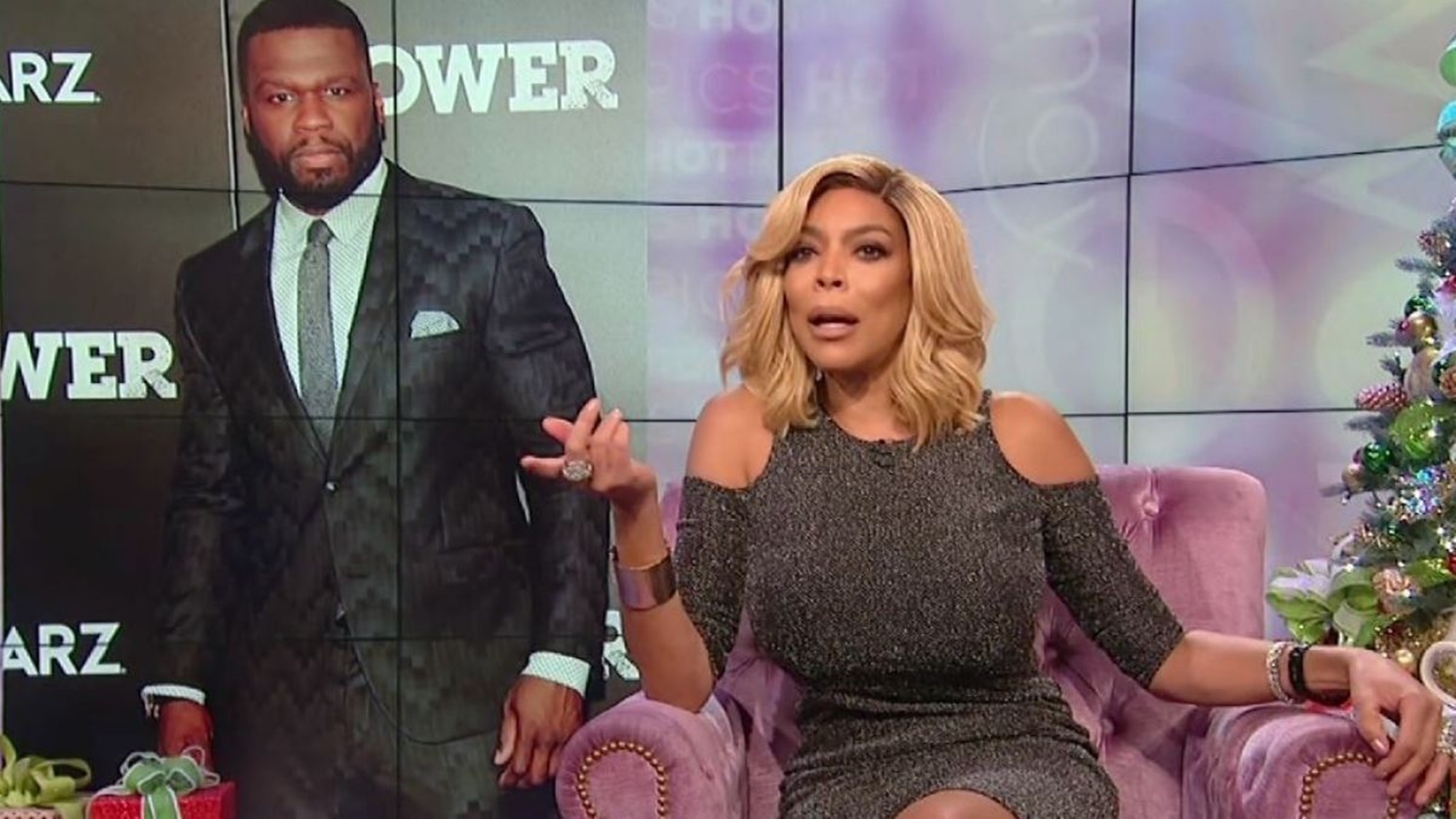 50 Cent Is Restless In His Shade: He Slams Wendy Williams Hard Ahead Of New Year's Eve