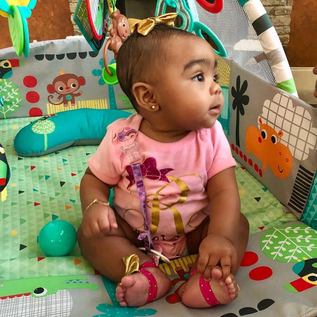 Toya Wright's Latest Photos With Baby Reign Rushing Show Off The Kid's Funny Facial Expressions And Fans Are Here For It
