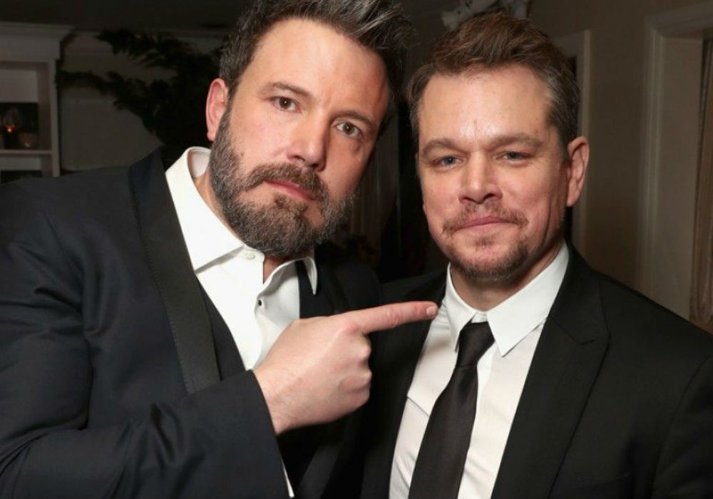 Ben Affleck's Ex Lindsay Shookus Spotted With His BFF Matt Damon In NYC