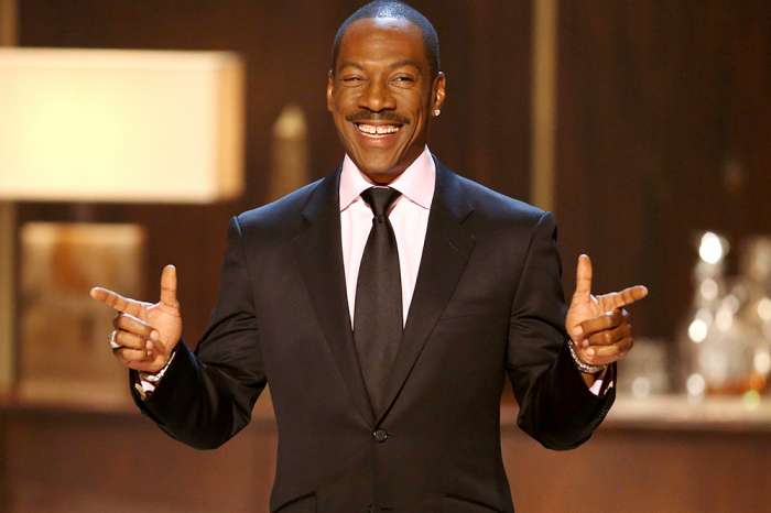 Eddie Murphy Taking Care Of His And Mel B's Daughter Angel While Mel Recovers