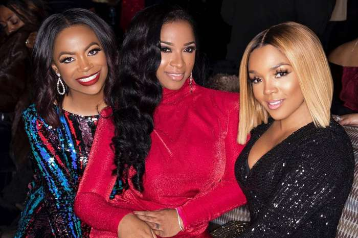 Toya Wright Is An 'Entire Day's Meal' In Epic Dress While Posing In Sweet Pictures With Rasheeda Frost And Kandi Burruss