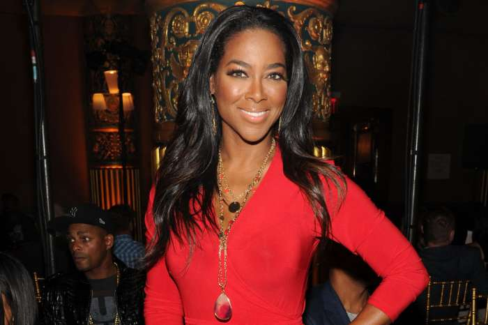 Kenya Moore Shares Brooklyn's First Christmas Photo With Marc Daly - Here's The Gorgeous Family Pic