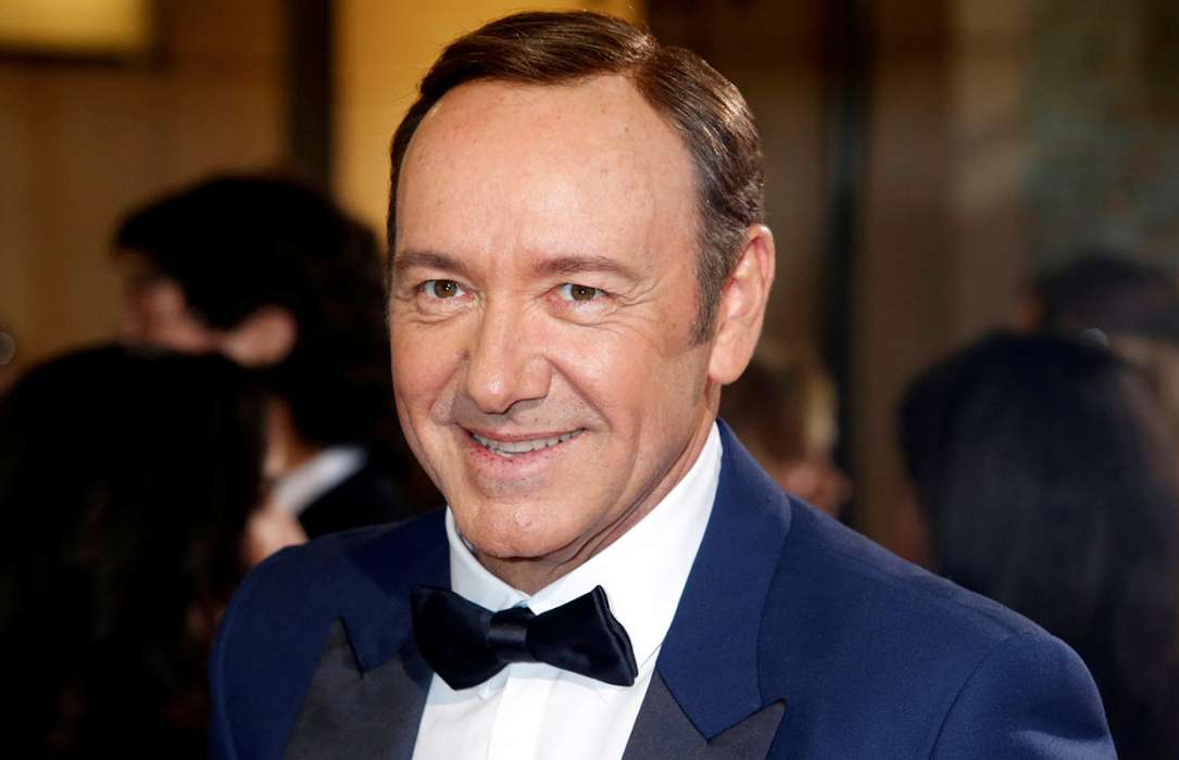 Kevin Spacey's freaky  video viewed 4.5million times in 24 hours