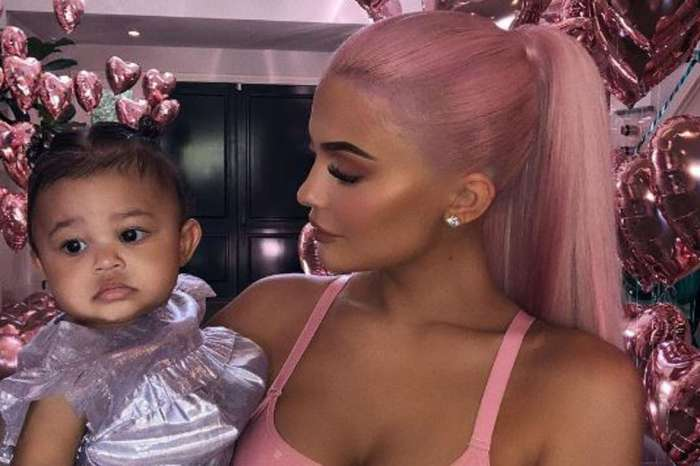 Kylie Jenner Plans To Collaborate With Daughter Stormi On Her Makeup Line