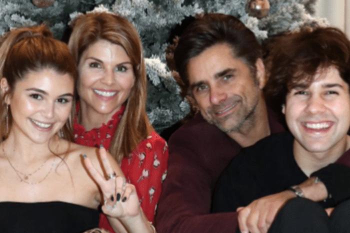 Olivia Jade Schools Mom Lori Loughlin And John Stamos On Slang Phrases With David Dobrik