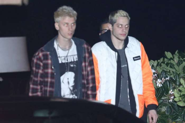 Machine Gun Kelly Spotted With Pete Davidson After Flying To New York To Check On Him