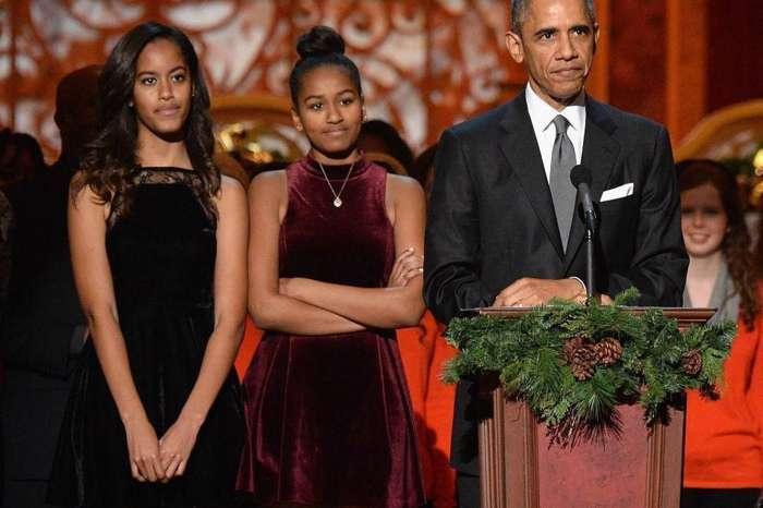 Barack Obama's Daughter Sasha Reveals Her University Pick Via Secret Instagram Account Picture