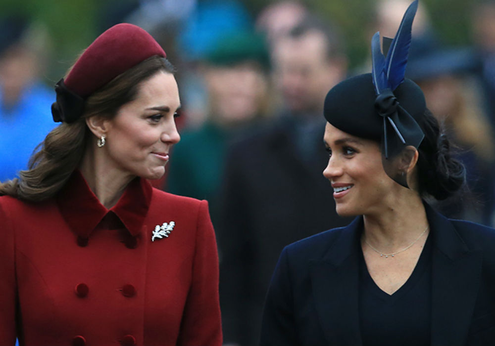 Meghan Markle And Kate Middleton Reportedly Ordered To End Thier Feud For Christmas By Charles And The Queen