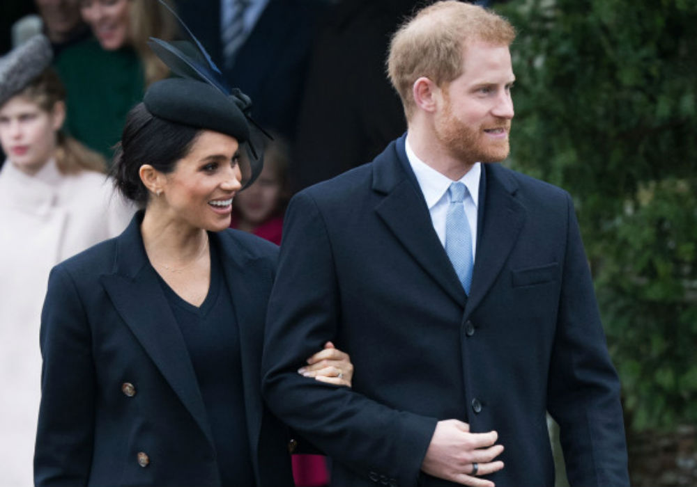 Meghan Markle Confirms Her First Child With Prince Harry Is 'Nearly There'