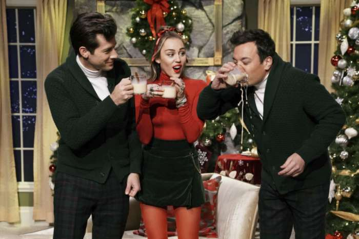 Miley Cyrus Wants Equal Pay And  A Few Less Chimneys In New 'Santa Baby' Rendition