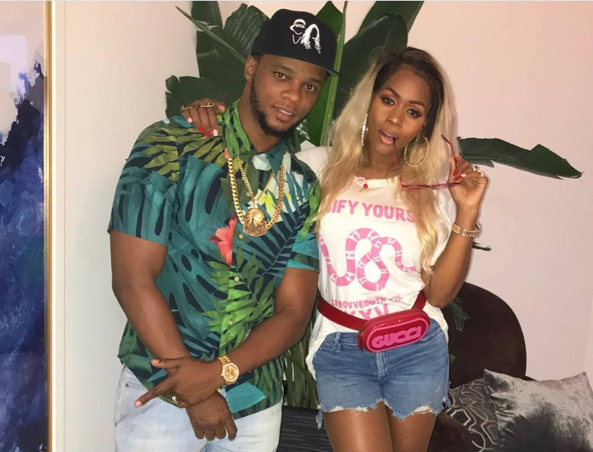 Papoose Remy Ma Baby Golden Child