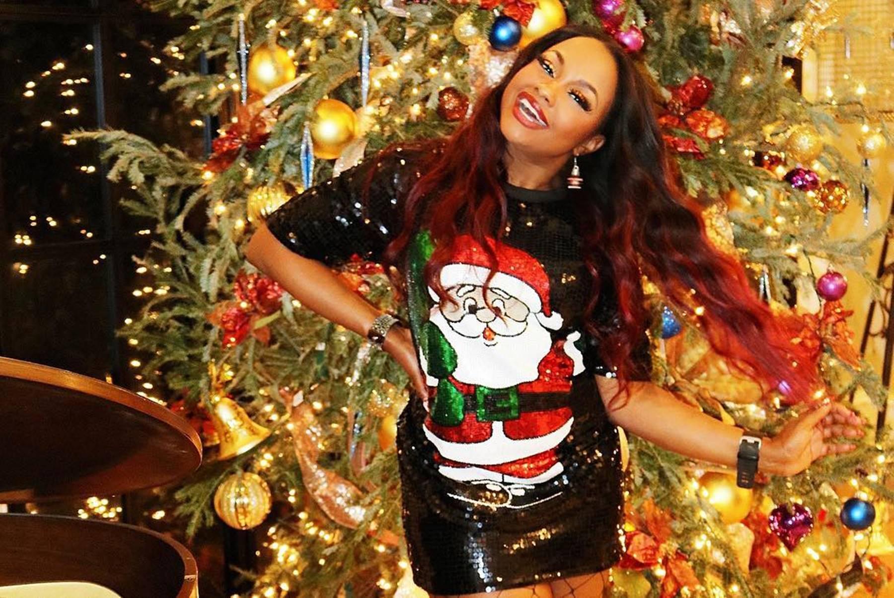Phaedra Parks Christmas Reindeer Rice