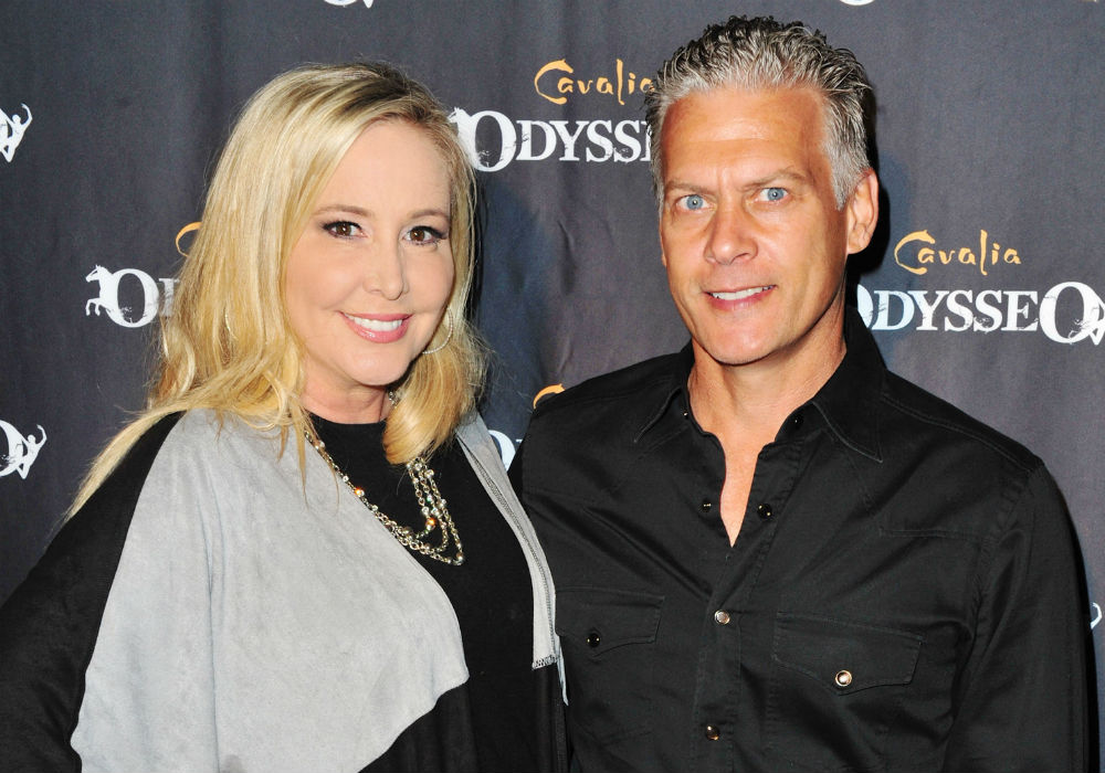 'RHOC' Shannon Beador's Cheater Ex David Beador Wants A Judge To Ban Her From Boozing In Front Of Their Kids