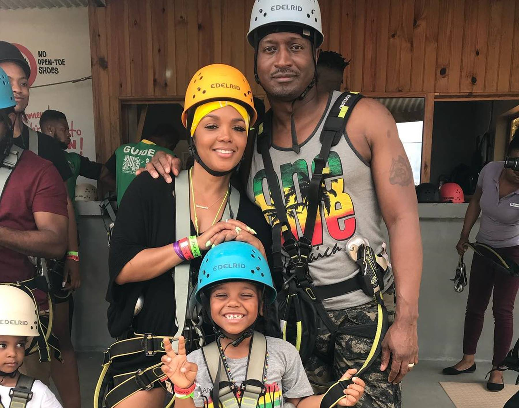 Rasheeda Frost Kirk Children Jamaica