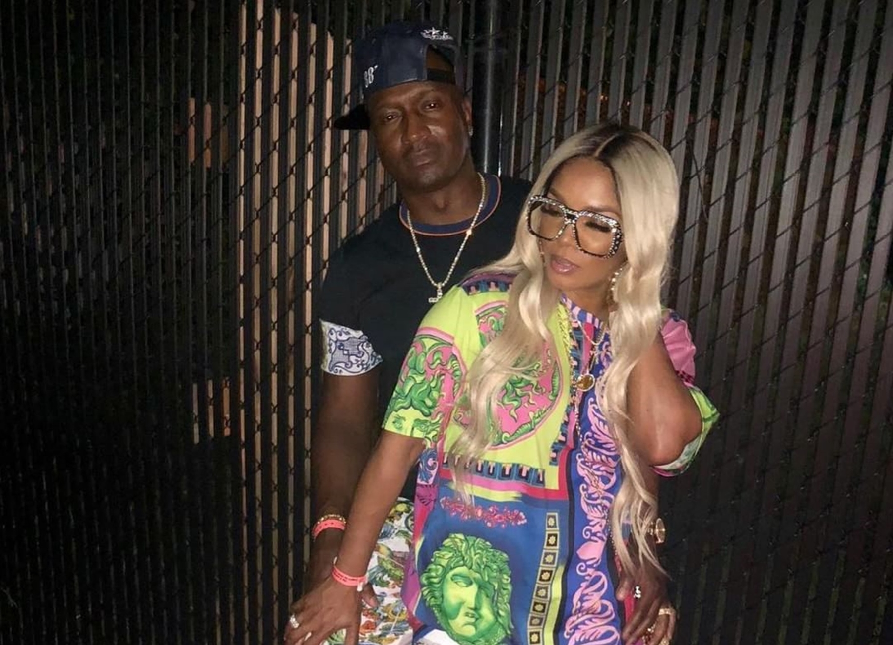 Rasheeda Frost Is On Vacay And Her Latest Pic With Kirk Frost In Which He's Finally Smiling A Bit Has Fans In Awe