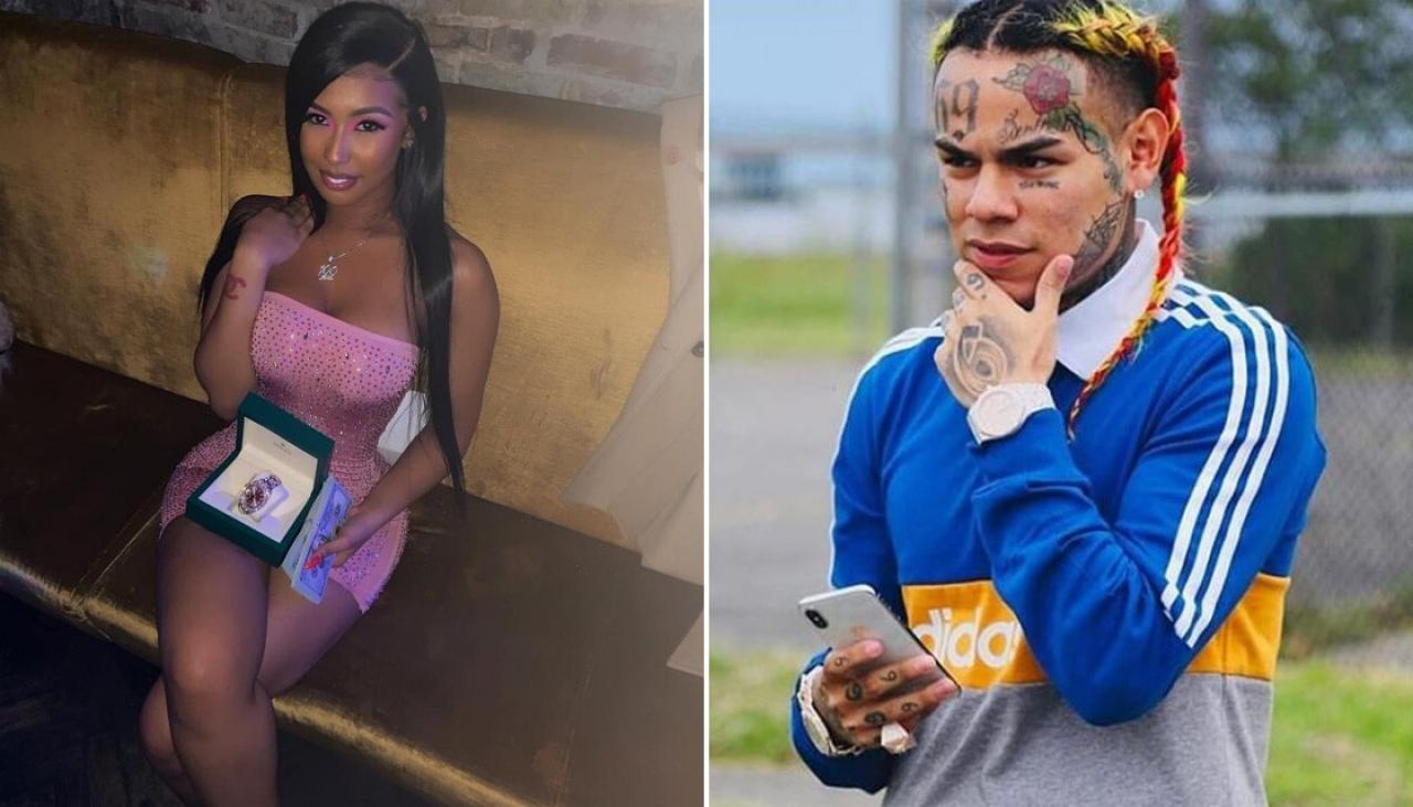 """tekashi-69-gets-his-girlfriend-jade-a-new-car-for-christmas-from-behind-the-bars-but-people-slam-her-shes-a-clout-chaser-watch-the-video"""