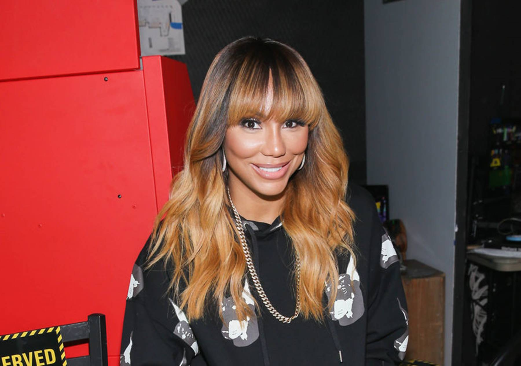 Tamar Braxton Had A Windy Christmas On Vacation With Her Boyfriend And Son,