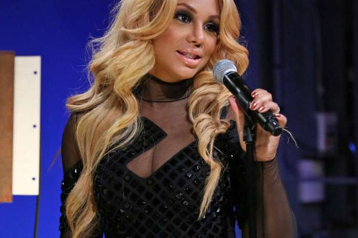 Tamar Braxton Shares Important Christmas Lesson In Video With Logan