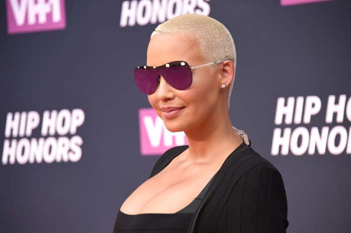 Amber Rose Feels That Her New Boyfriend Is Perfect For Her And Fans Say She's Competing With Blac Chyna To See Who Can Have The Most Boyfriends In 2018