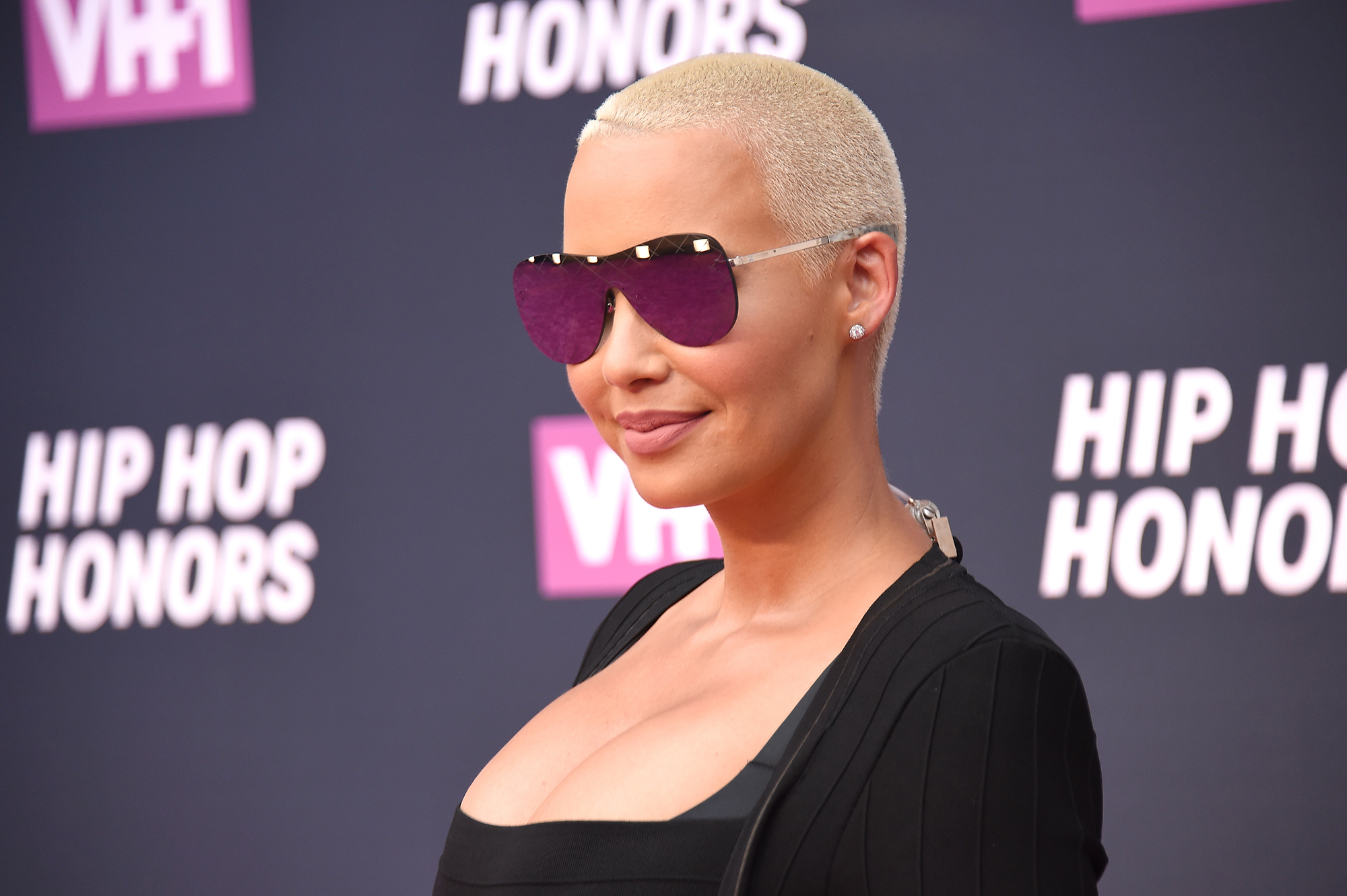 Amber Rose Says That Her New Boyfriend Is Perfect For Her And Fans Believes That She's Competing With Blac Chyna To See Who Can Have The Most Boyfriends In 2018