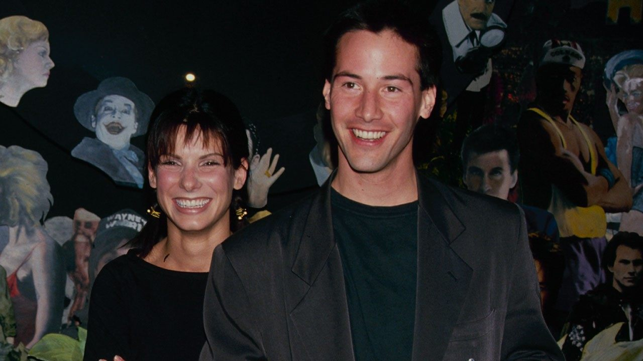 Sandra Bullock Had a Crush on Her Speed Co-Star Keanu Reeves