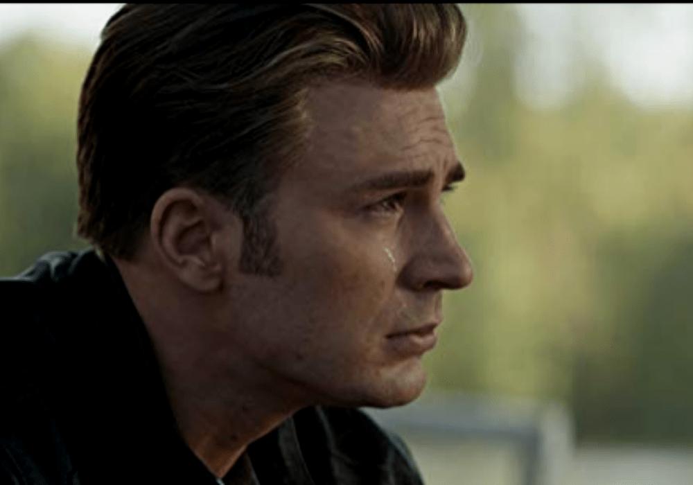 Captain America cries