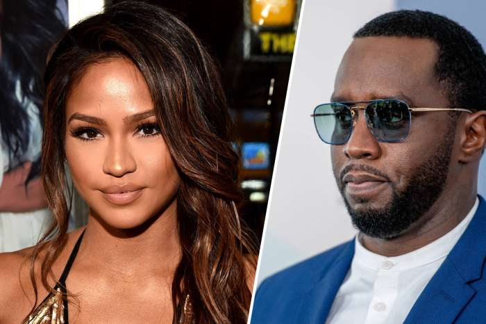 Cassie Kisses Mystery Man In Pic She Posted Just After Diddy Declared His Love For Her!