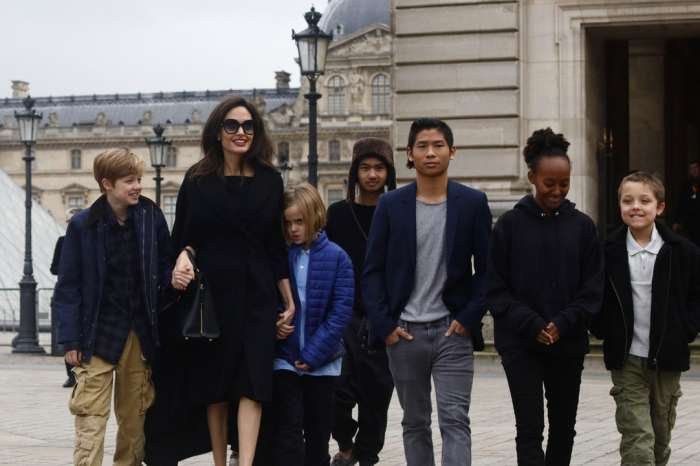 Angelina Jolie Spotted With The Kids On Last-Minute Holiday Shopping Spree