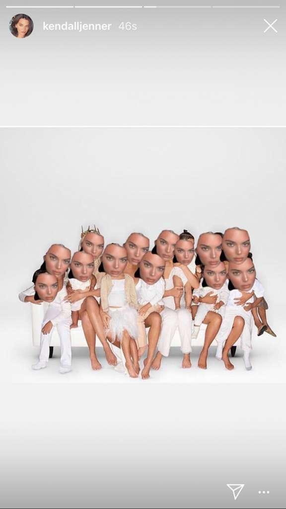 kardashian-christmas-card-kendall-jenner