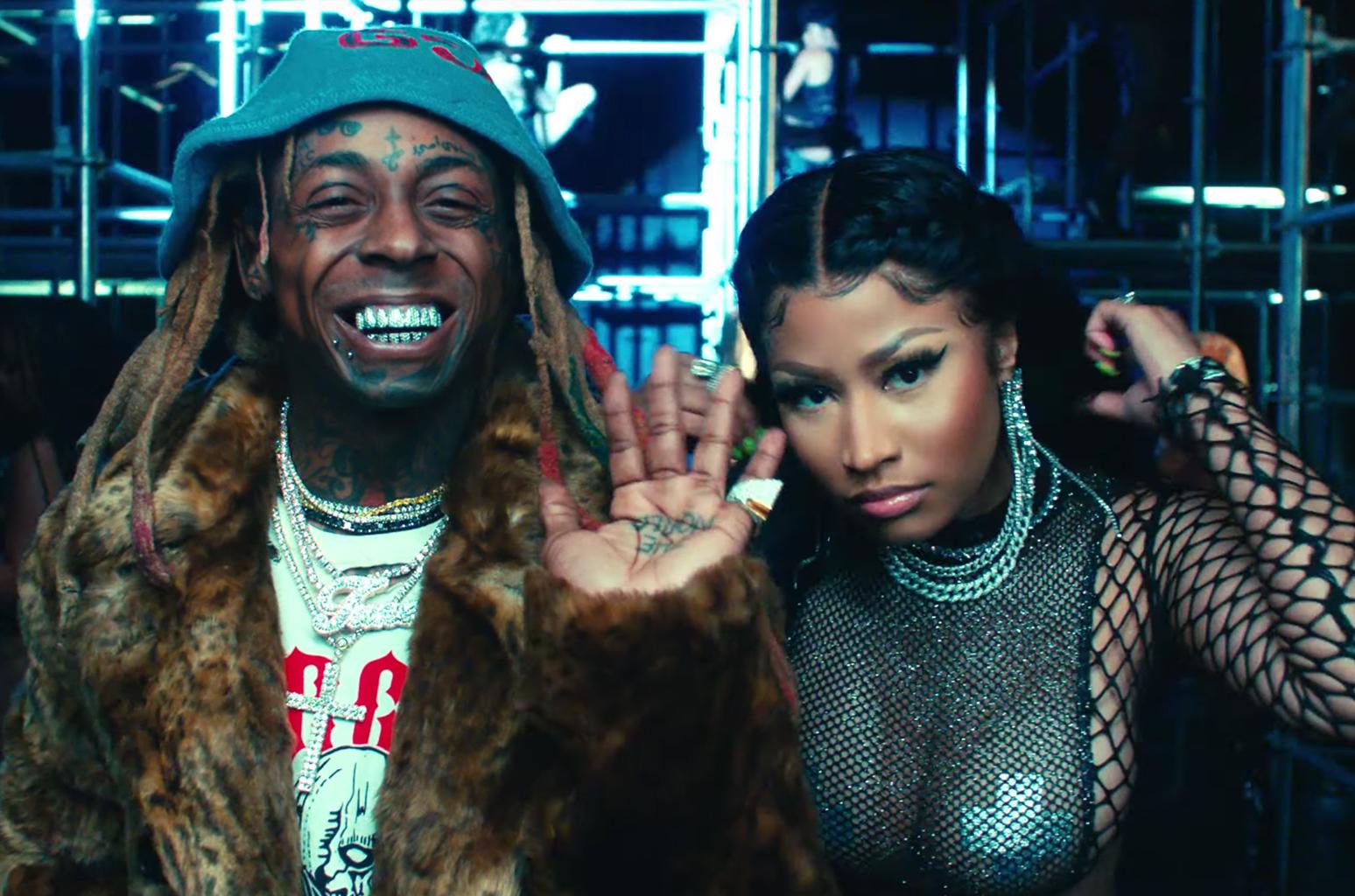 Nicki Minaj Will Spend New Year's Eve On Stage With Lil Wayne