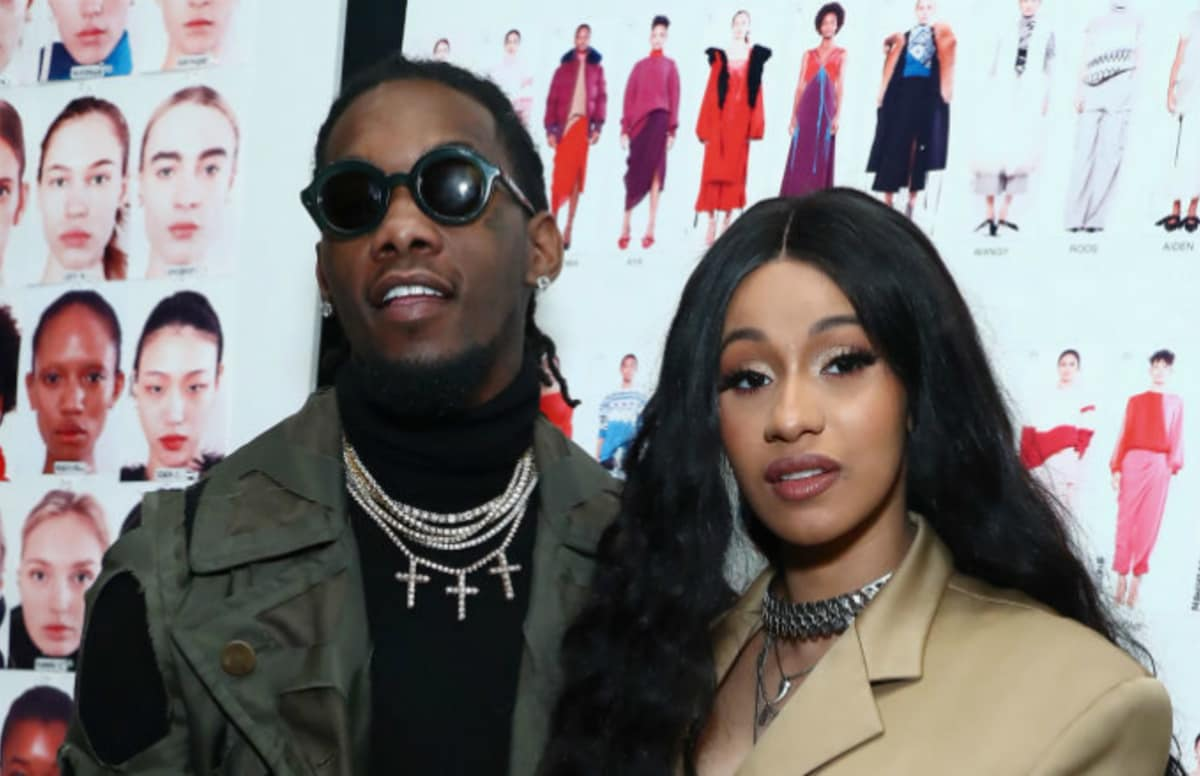 Migos' Offset Crashes Cardi B's Concert to Win Her Back Onstage