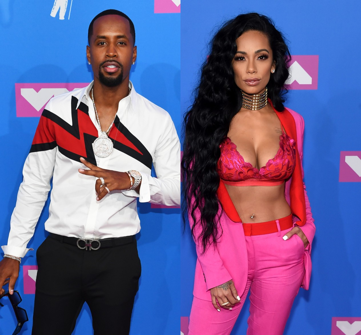 Safaree Samuels And Erica Mena Get Engaged - Check Out The Video In Which She Shows Off Her Ring
