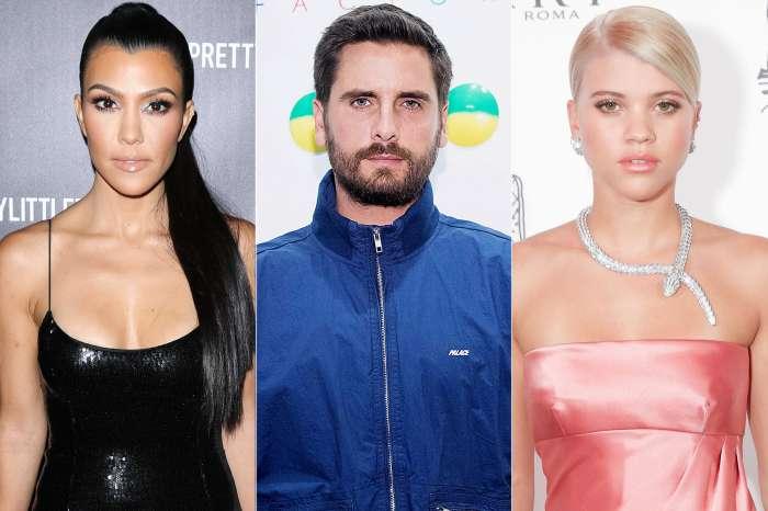 Sofia Richie Thinks It's Strange That Scott Disick And Kourtney Kardashian Are So Close!