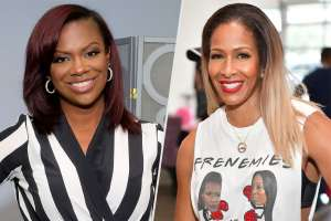 Kandi Burruss's Fans Accuse Her Of Hanging Out With Sheree Whitfield Only Because NeNe Leakes Hung Out With Phaedra Parks
