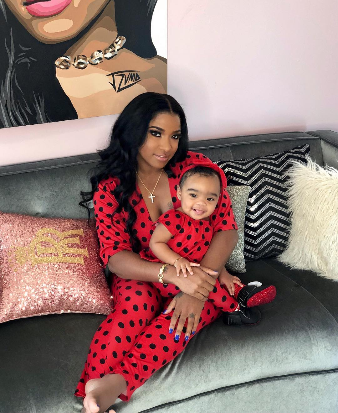 Toya Wright's Daughter, Reign Rushing Is Driving Her First Mercedes Unbothered, Ahead Of Her 1 Year Anniversary