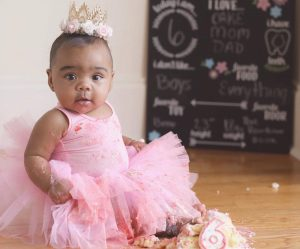 Toya Wright Cries Tears Of Joy While Announcing That Baby Reign Rushing Is Walking Just In Time For Her Birthday - See The Cute Video