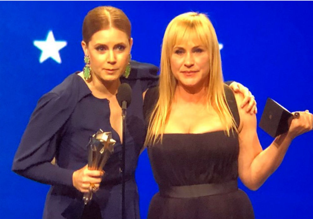 Amy Adams and Patricia Arquette tie for best actress