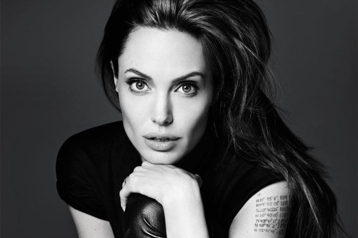 Angelina Jolie Spotted Selling Organic Dog Treats While Out With Kids In Local Park
