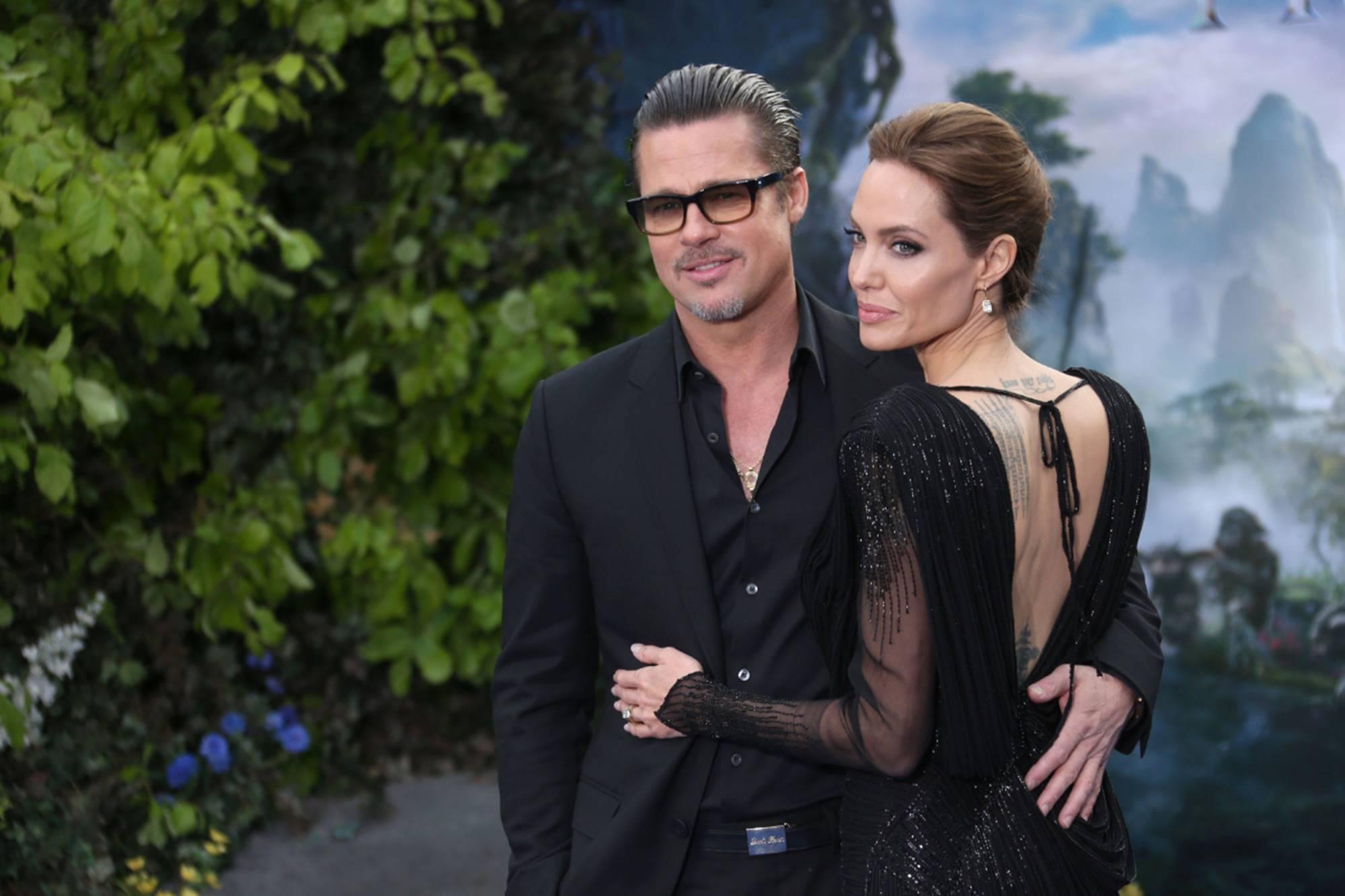 Brad Pitt Angelina Jolie Zahara Birthday Party