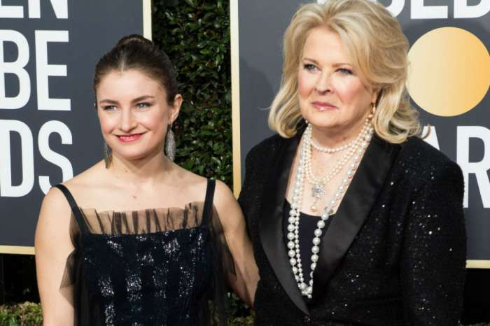 Candice Bergen And Chloe Malle Walk Golden Globes Red Carpet As 'Renew Murphy Brown' Continues To Trend