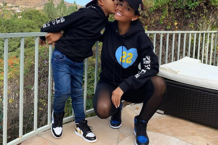 Evelyn Lozada,The 'Basketball Wives' Star, Gets In Trouble Over Son Carl Leo Crawford's Prayer Video -- Is Chad 'Ochocinco' Johnson's Ex A Hypocrite?