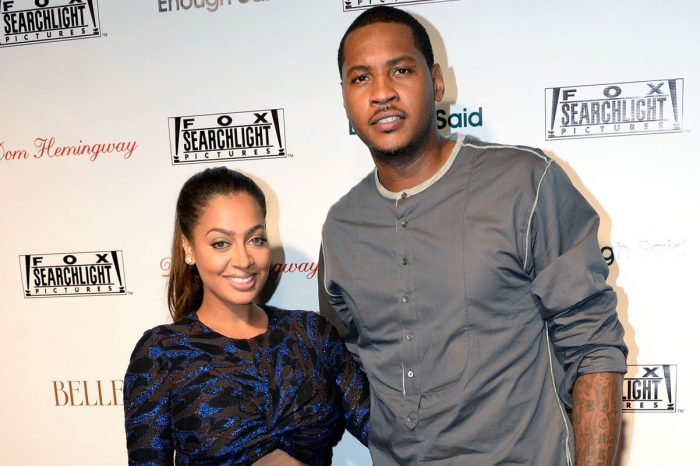 La La Anthony Confirms She And Carmelo Are Back Together With Sweet Post!
