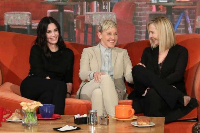 Courteney Cox Has Friends Reunion With Lisa Kudrow Thanks To Ellen DeGeneres