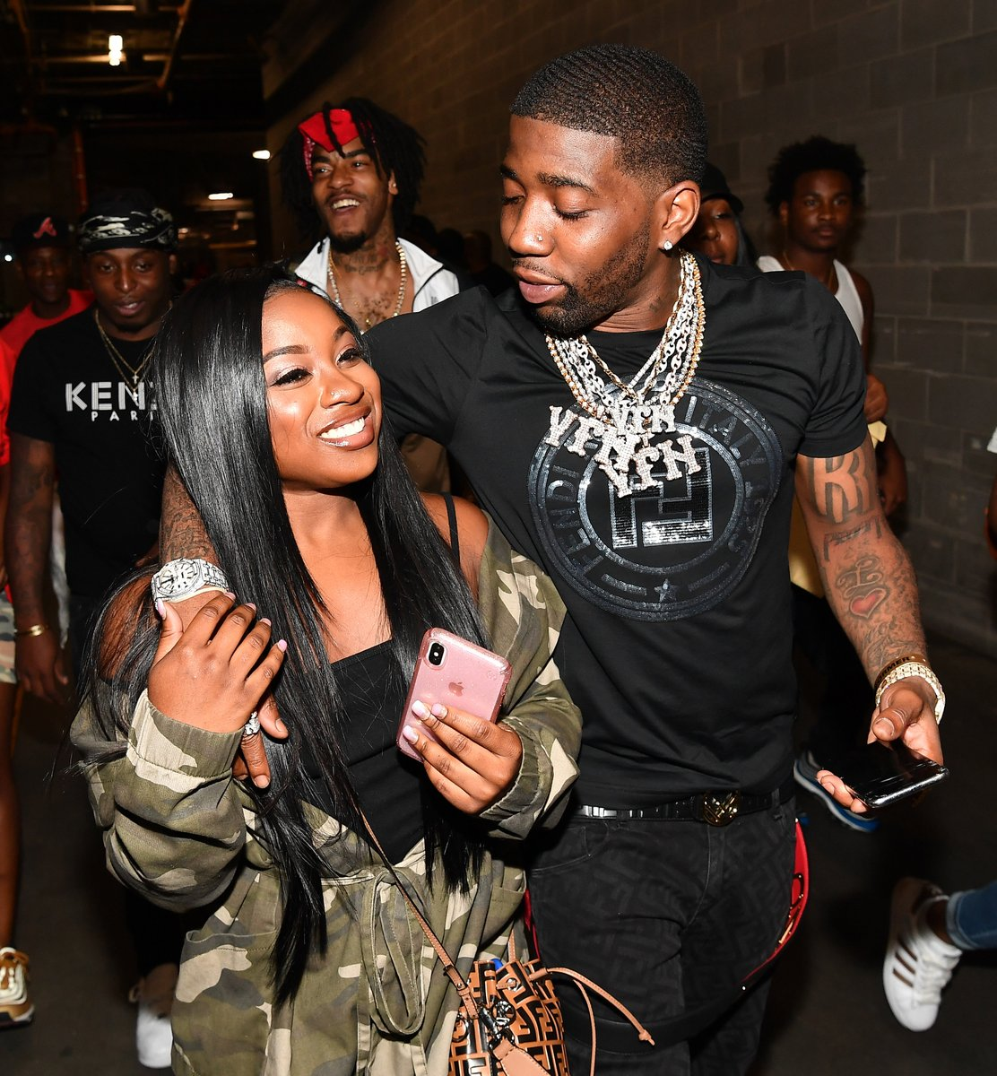 Reginae Carter's Fans Believe That She's Not Acting Naturally Around YFN Lucci