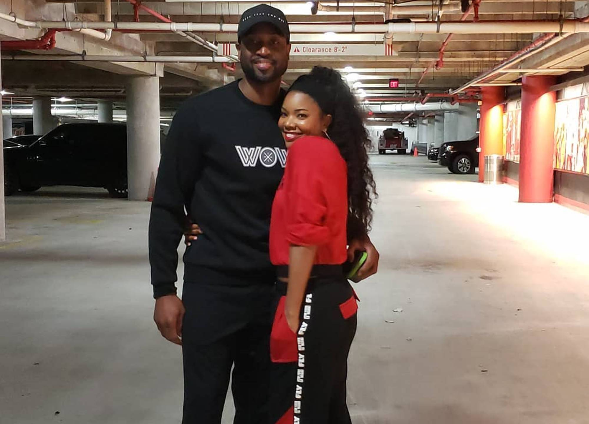 """dwyane-wade-reflects-on-great-year-with-baby-kaviaa-and-gabrielle-union-via-sweet-picture"""