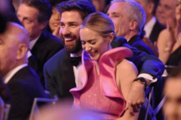 Emily Blunt's SAG Award Was Big But Not As Thrilling As Fans' Response To John Krasinski's Reaction