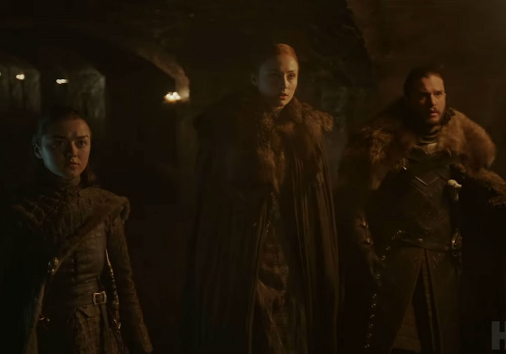 Game Of Thrones Drops First Official Season 8 Teaser, What Does It Mean For The Stark Kids
