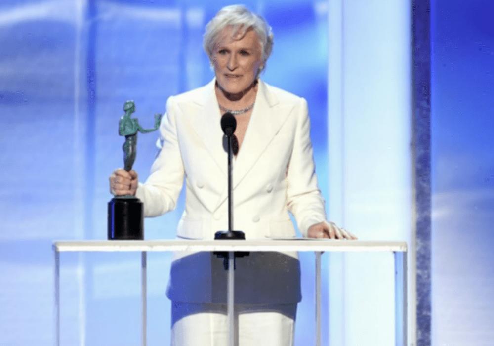 Glenn Close wins best actress