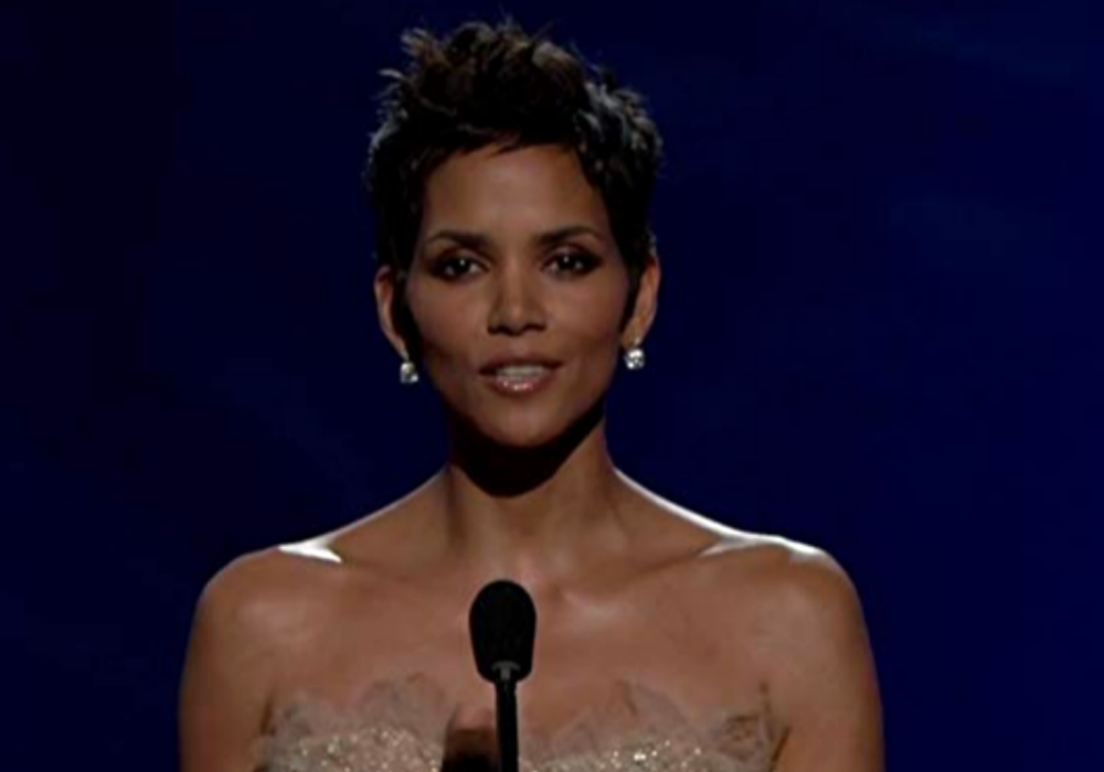 Halle Berry won the best actress Oscar